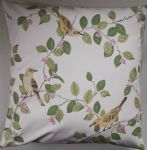 "Cushion Cover in Laura Ashley Aviary Birds 14"" 16"" 18"" 20"""